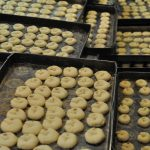 Sweets fresh from the oven in Alepo