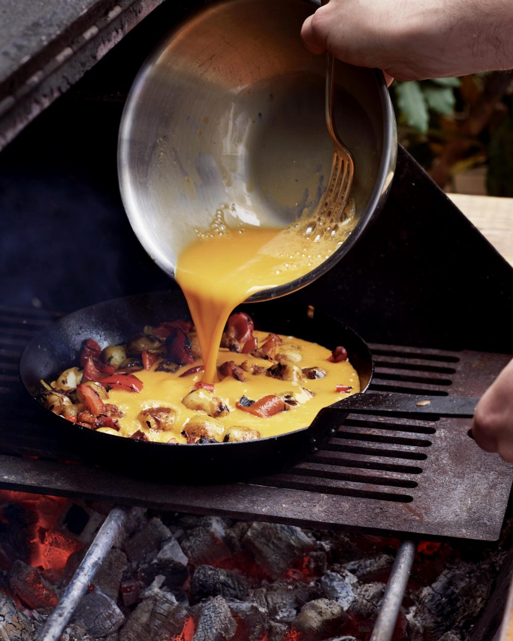 BBQ frittata